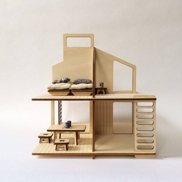 17 Best Images About Wooden Dolls House On Pinterest