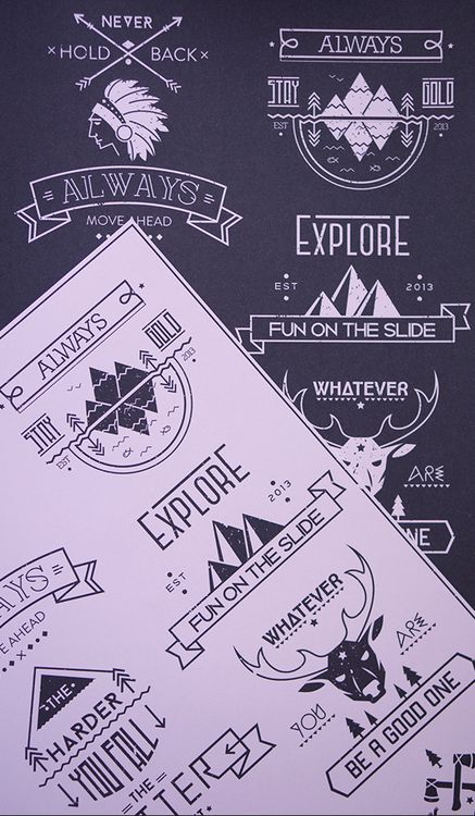 #Logos #typography #design