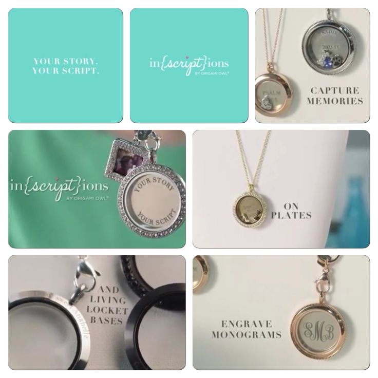 Origami Owl Inscription Our NEW In(Script)ion jewelry line available now