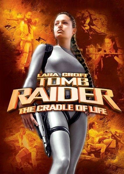 Lara Croft Tomb Raider: The Cradle of Life is a 2003 action adventure film based on the Tomb Raider video game series. https://en.wikipedia.org/wiki/Lara_Croft_Tomb_Raider:_The_Cradle_of_Life (fr=Lara Croft : Tomb Raider, le berceau de la vie)