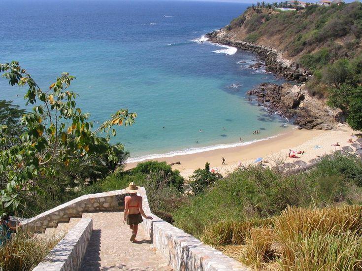 La Playa Carrizalillo, Puerto Escondido, Oaxaca =)