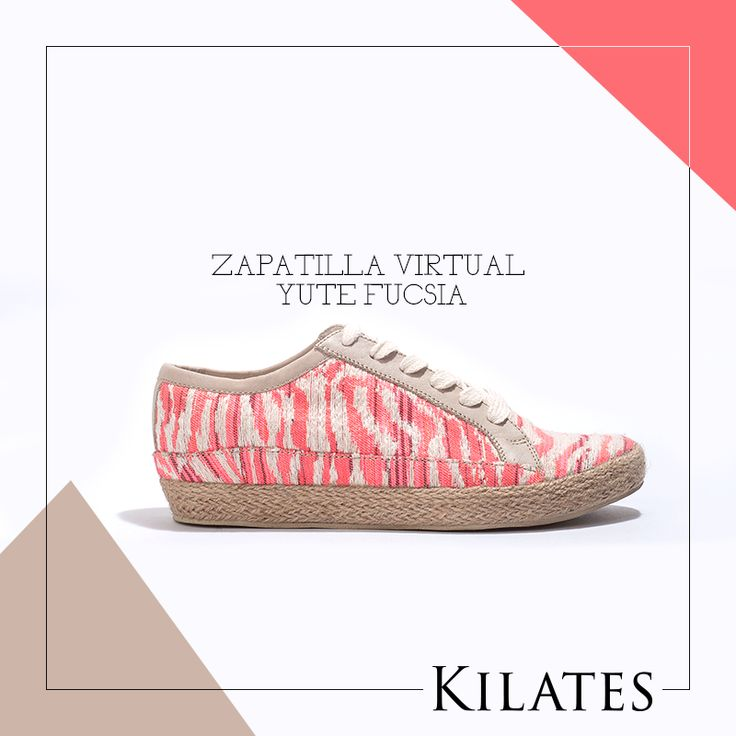 Zapatilla Virtual Yute Fucsia