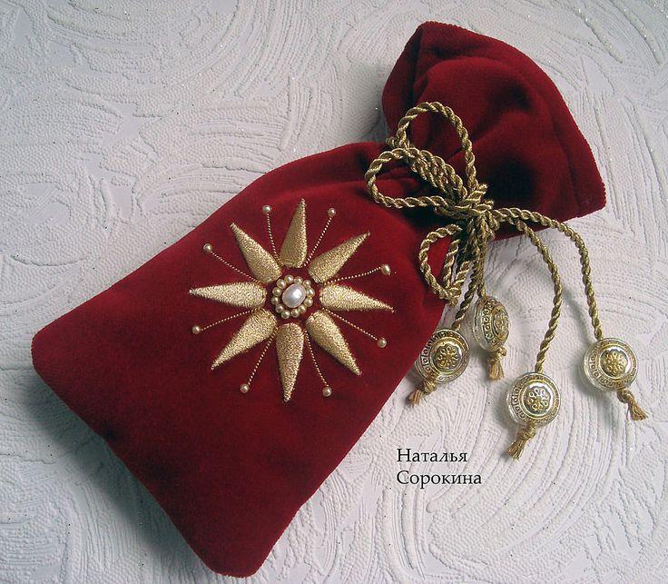 Купить Подарочный мешочек для мелочи - мешочек, мешочек для подарка, подарочный мешочек, бархатный мешочек