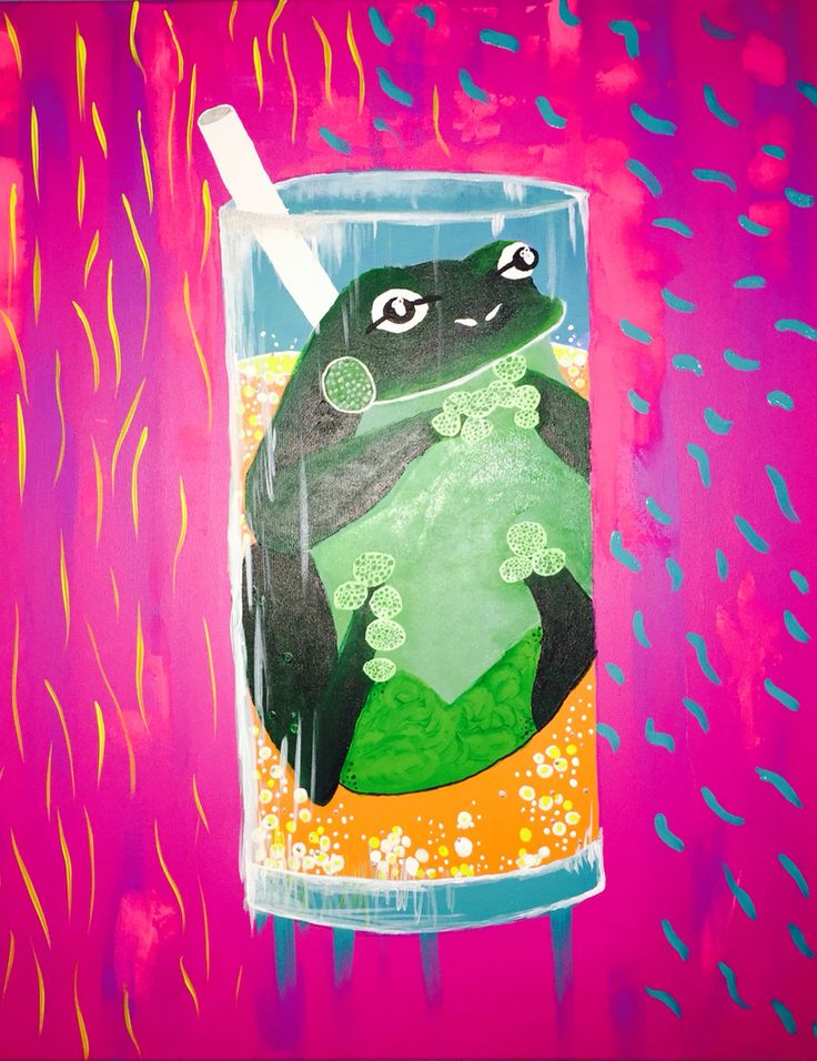 Frog In A Cup  Rebecca Barker