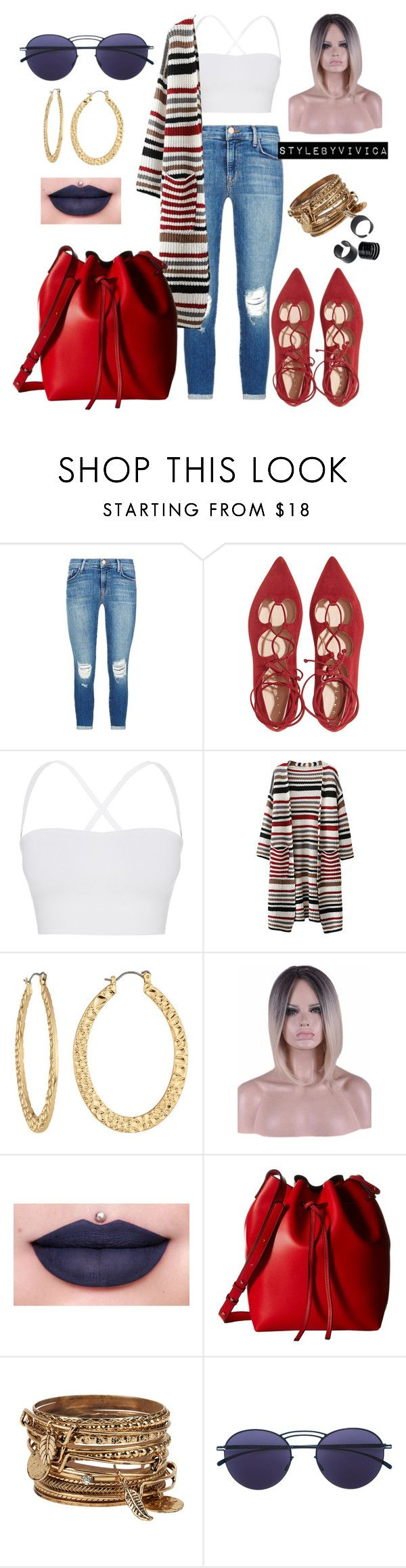 """""""Chill Sunday:Your Place or Mine?"""" by stylebyvivica ❤ liked on Polyvore featuring J Brand, Theory, Fragments, Jeffree Star, Gabriella Rocha, ALDO and Mykita"""