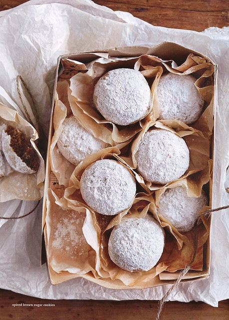 Food Styling:  Spiced Brown Sugar Cookies Photograph from Donna Hay