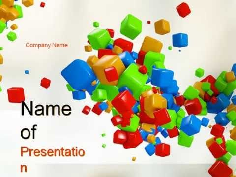 34 best Favorite PowerPoint Templates images on Pinterest - 3d powerpoint template