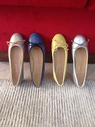 Ballerina shoes. All colors avaiable
