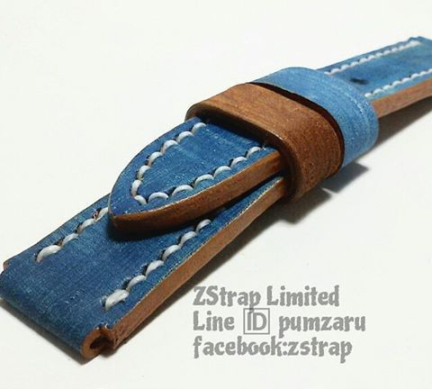 ZStrap Limited . Made to order  handmade burgundy crocodile leather strap with white stitching for Panerai. 24/24mm. 130/80 mm. (accept PayPal & world wide shipping)  www.facebook.com/zstrap  Line ID: pumzaru  #zstrap #watches #watchstrap #watch #straps #strap #panerai #pam #seiko #seikomonster #seikomonster #rolex #rolexeuro #sevenfriday #deisel #omega #leatherstrap #leather #leatherwork #leathercraft #handmade #handcraft #accessories #limitededition  #exotic #python #crocodieleather
