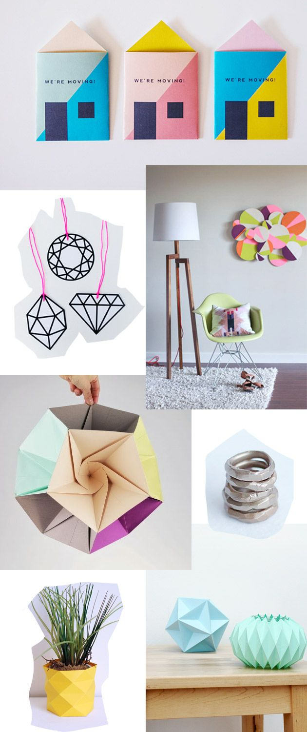 8 cool geometric diy's