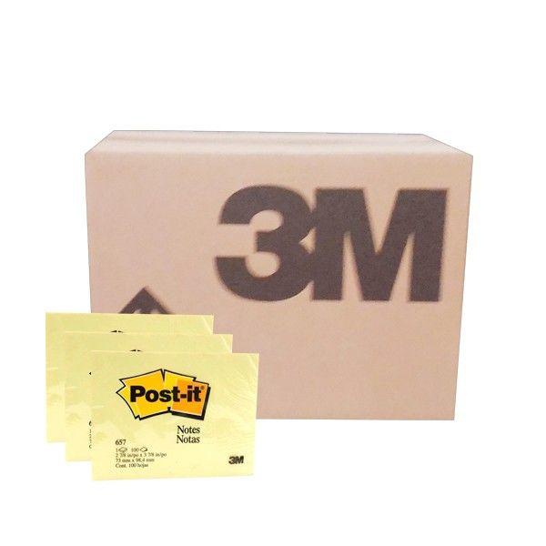 """Post-it Canary Yellow 657 (grosir) - Harga Kertas Memo Paling Murah Di Jual Secara Online  3"""" X 4"""" Post-it Canary Yellow 100 sheets/pad     (144 Pad/Ctn)  - Harga per ctn  http://tigaem.com/post-it-grosir/944-post-it-canary-yellow-657-grosir-harga-kertas-memo-paling-murah-di-jual-secara-online.html  #postit #notes #memo #3M"""