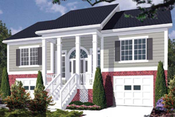 Front Porches On Split Foyer Homes : Remodeling split foyer house plans