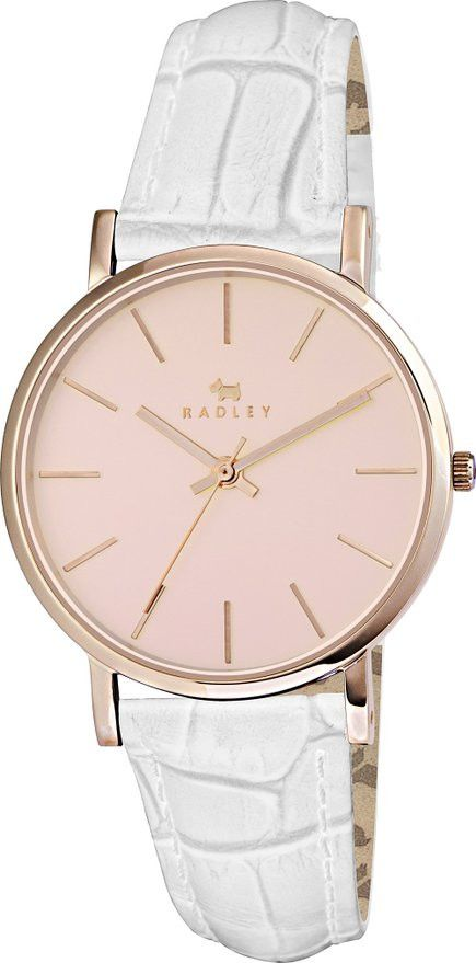 Radley RY2266 – sale! Only £47.50!! #fbloggers #fashion #radleylondon #radley #watch #love #rosegold #white