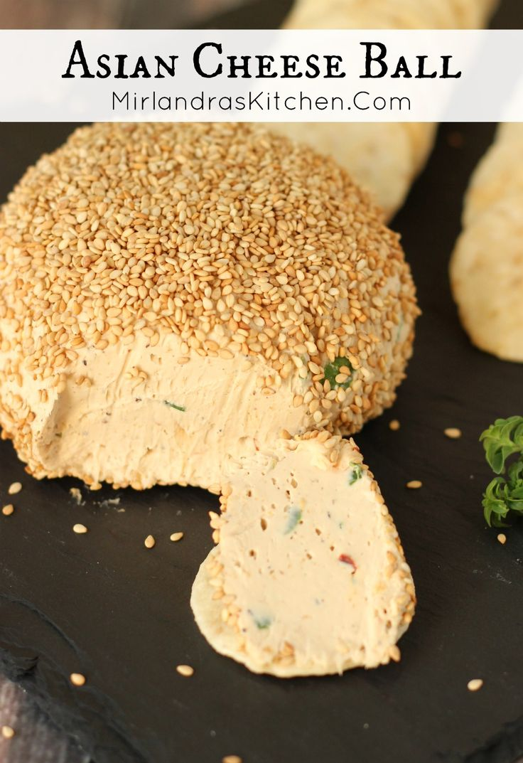 This unique sweet and salty Asian Cheese Ball perfectly captures the flavors of Korean BBQ. Serve it with rice crackers for an easy gluten free appetizer.