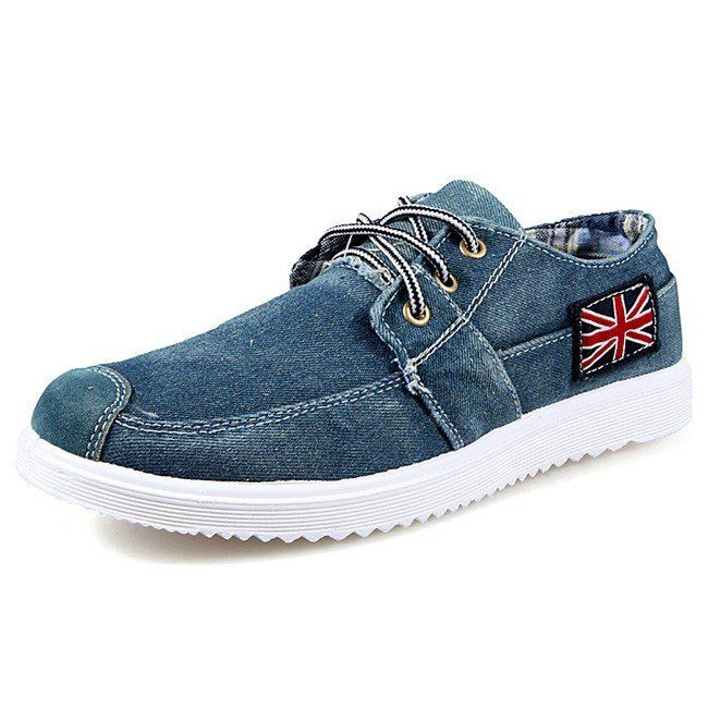 2017 Fashion Men's Casual Denim Shoes