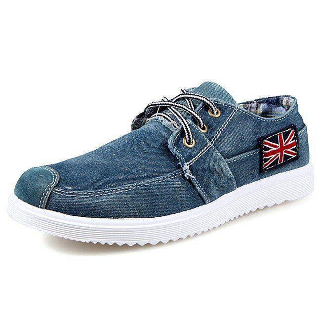 2017 Fashion Men's Casual Denim Shoes