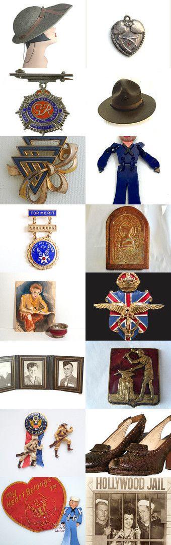 WWII Memorabilia by Betty J. Powell on Etsy--Pinned+with+TreasuryPin.com