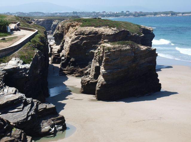 Playa de las Catedrales, Rias Altas, Galícia, Espanha