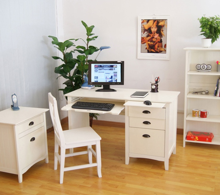 Perfect Space2 New England White Home Office Furniture Range, Perfect For The Kids  Too