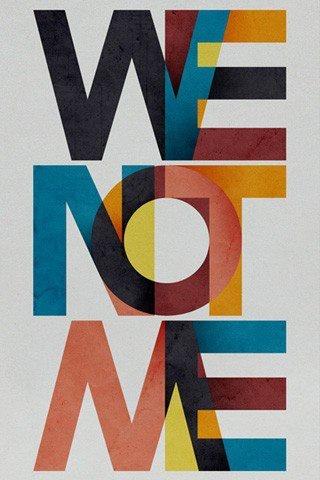 Ubuntu is WE NOT ME