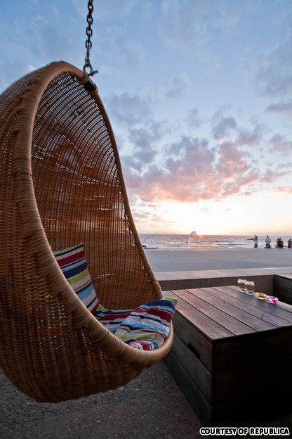 Republica beach bar in St Kilda, Melbourne. Been here!