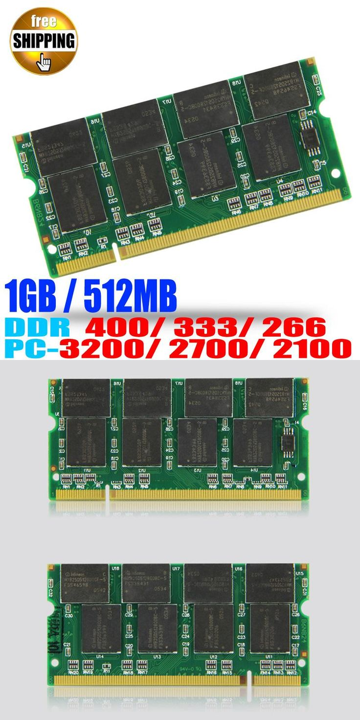 [Visit to Buy] Brand ! Laptop Memory Ram SO-DIMM DDR1 DDR 400 333 MHz / PC-3200 PC-2700 200 PINS 512 MB 1 GB For Sodimm Notebook Memoria RAMS #Advertisement