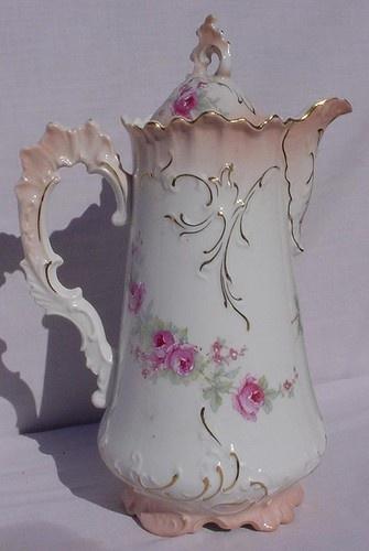 239 Best Antique Chocolate Pots Images On Pinterest Tea