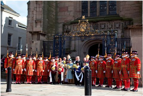 Derby Cathedral - Queen's Jubilee