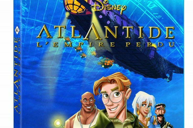 Disney Blu-ray : La Planète au Trésor et Atlantide, l'Empire perdu