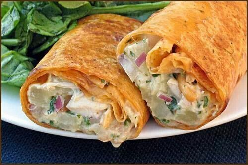 Curry wraps | New Try Outs (recipes) | Pinterest