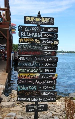 Weekend Getaway Guide: Put-in-Bay, Ohio. Road trip time in the midwest. via Ohio Girl Travels