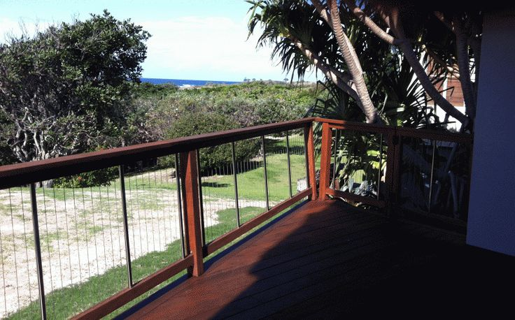 Hardwood Deck and Balustrade - Hastings Point, NSW