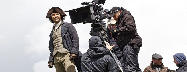 Exclusive Interview: Behind the Scenes with Poldark's Aidan Turner