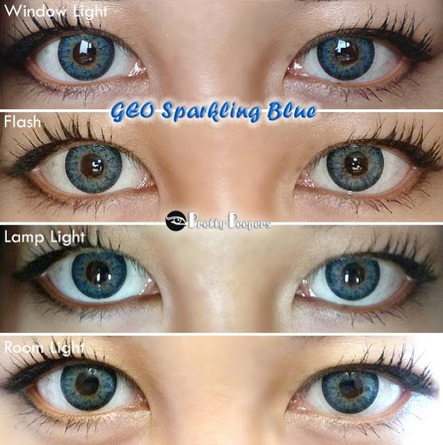 NEO Glamour Blue | Colored contacts, Circle lenses and ...