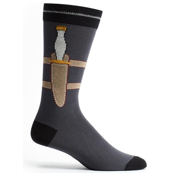 Dagger - Luxury Men's Novelty Socks From Ozone Design. Made In Colombia. Free Shipping!