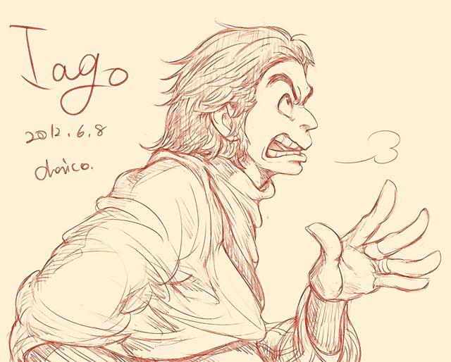 Iago by chacckco on DeviantArt