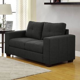 Homelegance Ashmont Dark Grey Loveseat 9639-2
