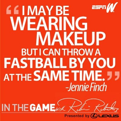 =) Softball.