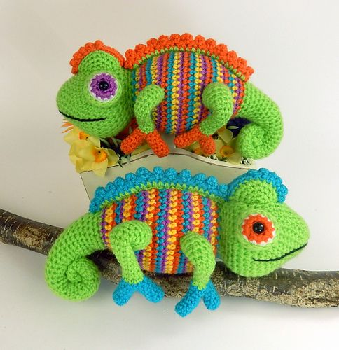 18 Best H Chameleon Images On Pinterest Amigurumi Patterns