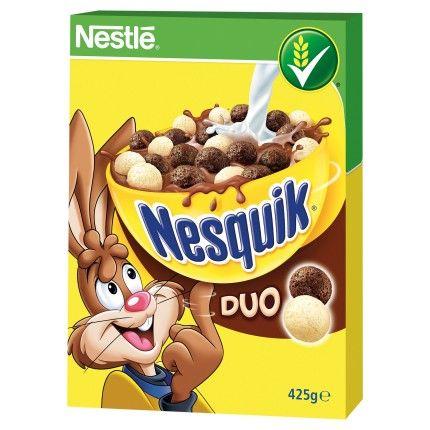 Nestlé Nesquik Duo cereálie 425g