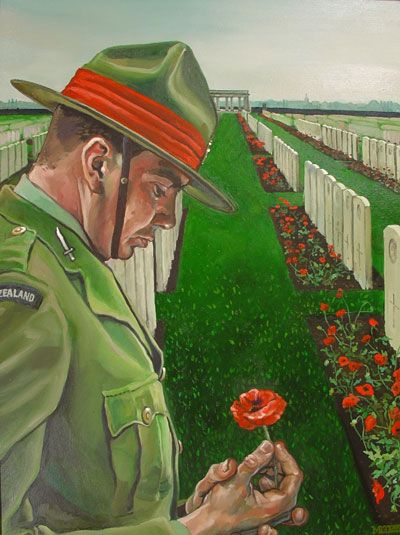 Anzac Day - April 25th. Lest we forget.