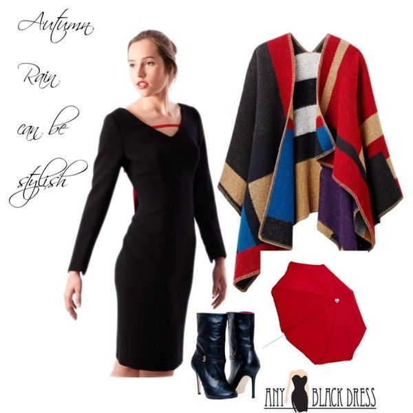 """Autumn Style Any Black Dress"" by anyblackdress on Polyvore"