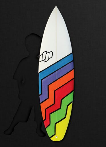 Little Mate by Dp Surfboards. Designed for the grom who is developing their skills and style. Mostly a scaled down version of the Performa with some adjustments to suit the feather weights.  We work with some of the most promising up and coming grommets in Australia, so know the importance of providing the right board for the rising stars.  Generally ridden between 4'11 and 5'8.
