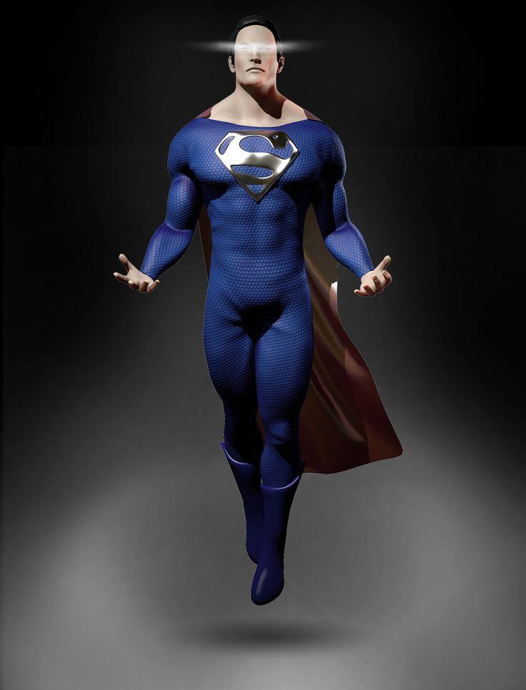 Superman Dark or Light? , Angel Axiotis on ArtStation at https://www.artstation.com/artwork/6wXbx