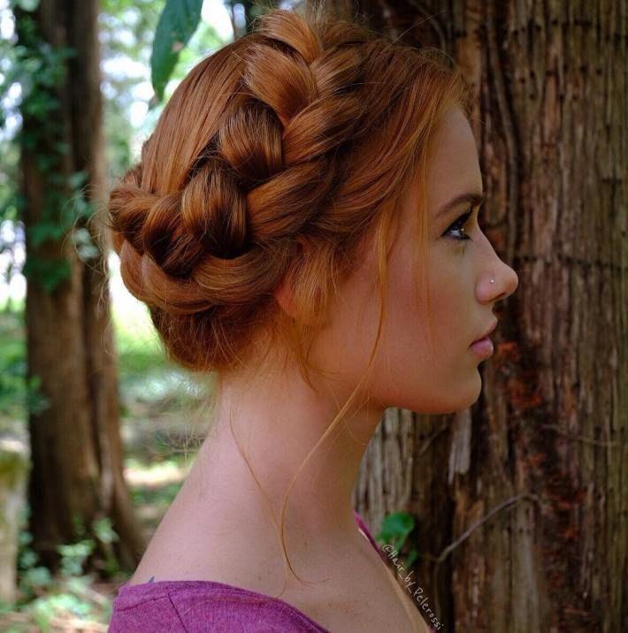 Best Milkmaid Braid Ideas On Pinterest Crown Braids Braid - Diy hairstyle knotted milkmaid braid