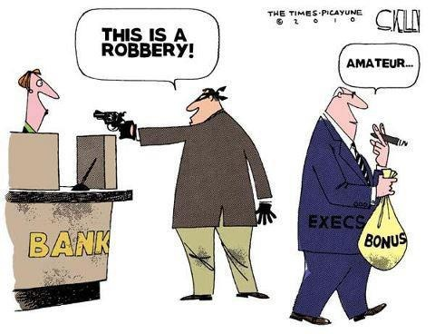 Who's robbing who