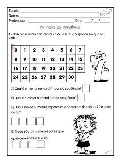 Alfabetizar com AMOR: PAR OU ÍMPAR? - 1º ANO