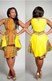 DeZango Fashion Zone: African Dresses Ankara Design