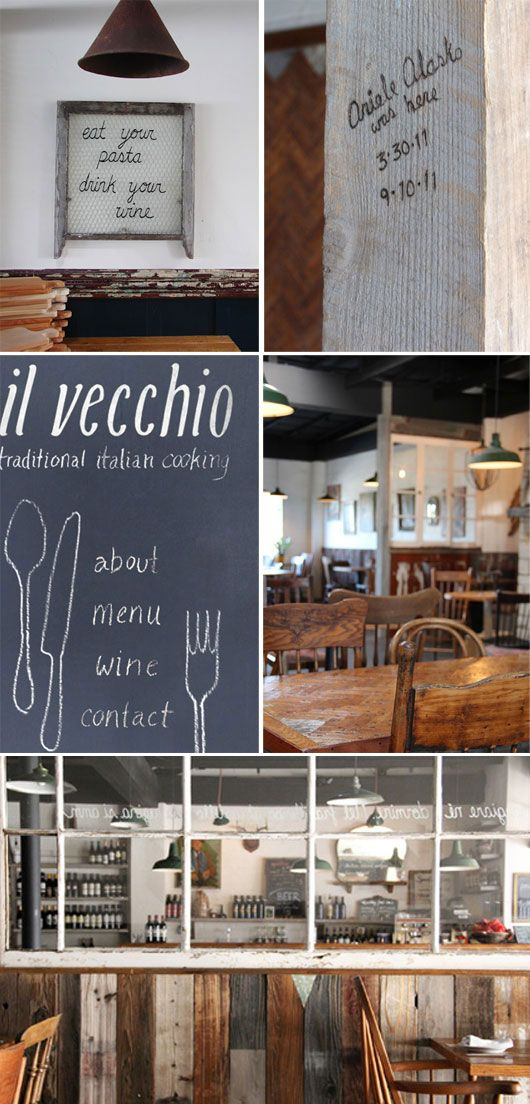 the incredible restaurant ariele alasko designed and built for her father, il vecchio, in monterey. via sfgirlbybay
