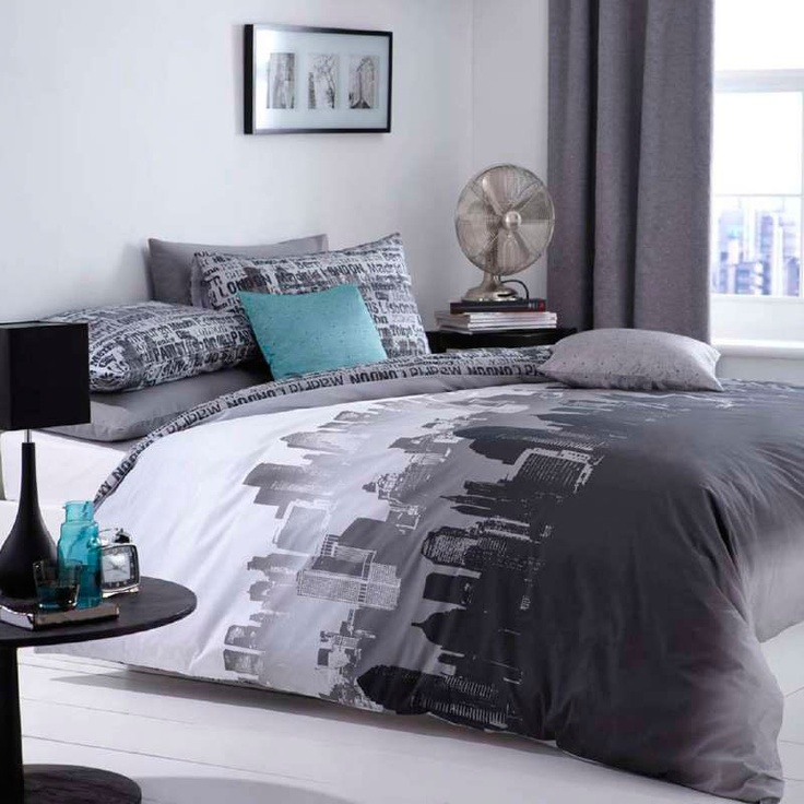 Catherine Lansfield City Scape Bedding Set A